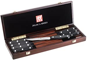 Zwilling J.A. Henckels Twin Gourmet 8-Piece Steak Knife Set with Box