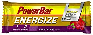 Powerbar Energize Bar C2Max Berry blast, 25 x 55 g, 1er Pack (1 x 1.4 kg Packung) from Powerbar