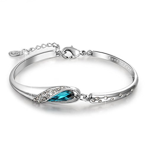 qianse-christmas-gifts-thanksgiving-day-gifts-glass-slipper-7-bangle-bracelet-made-with-blue-swarovs