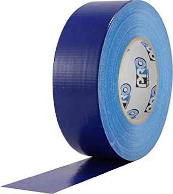 "ProTapes Pro Duct 120 PE-Coated Cloth Premium Industrial Grade Duct Tape, 60 yds Length x 3"" Width, Blue (Pack of 1)"