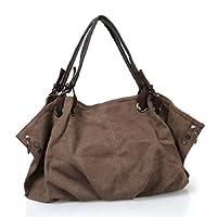 BMC Colored Denim Multi Zipper Pocket Oversized Lined Fashion Handbag Totes from Bundle Monster