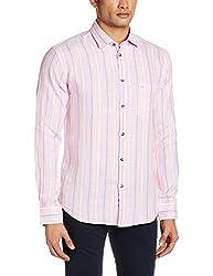 Park Avenue Men's Casual Shirt (8907117081651_PCSY00769-R2_40_Pink)