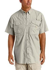 Columbia Men's Bonehead Short Sleeve Shirt Big,Fossil,1X