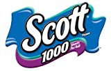 Scott 1000 Bath Tissue, One-Ply, 1000 Sheet Rolls (27 Count)