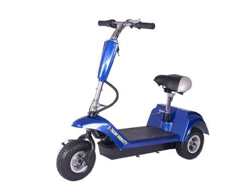 X-Treme Xmb-320 3 Wheel Electric Mobility Scooter (Blue)
