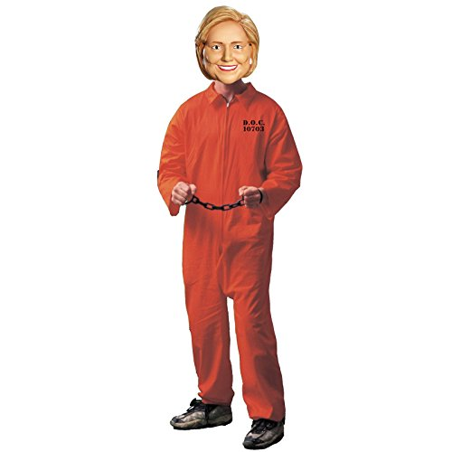Hillary Clinton Prison Halloween Costume Adult