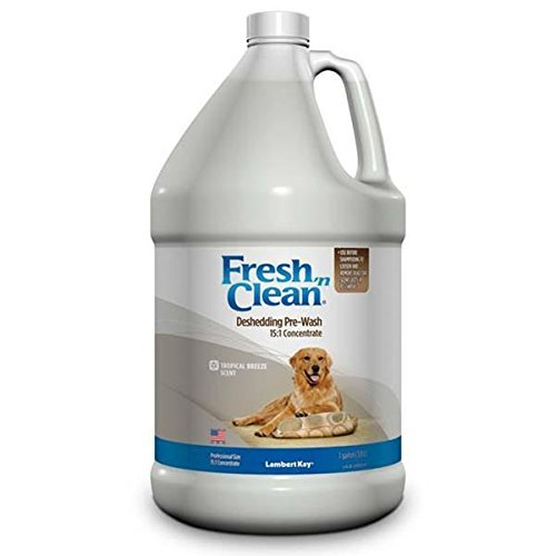 lambert-kay-fresh-n-clean-deshedding-pre-wash-151-concentrate-gallon-size-tropical-breeze-scent-by-l