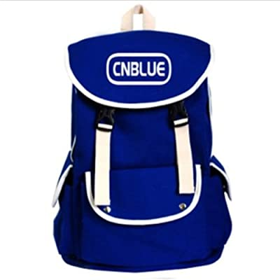 CNBLUE Kpop new accessories backpack schoolbag Jung Yong Hwa (Blue)