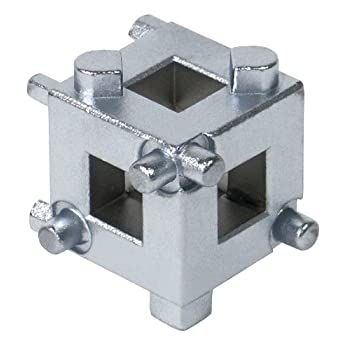 TEKTON DISC BRAKE PISTON CUBE features: Drop Forged, Heat Treated Chrome-Molybdenum Steel Construction, Chrome Plated for Durability, Rotates Pistons Back into Brake Calipers when Replacing Pads, Unique Cube Design Provides Five Drive Pin Configurati...