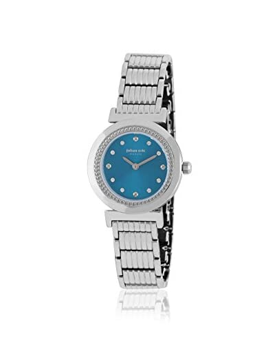 Johan Eric Women's JE1200-04-006B Djursland Silver/Blue Stainless Steel Watch