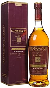 GLENMORANGIE Lasanta (Extra Matured Sherry Cask Finish) Highlands Malt Whisky 70cl Bottle