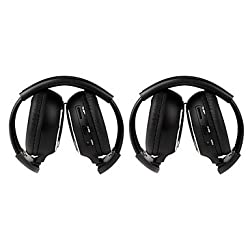 See 2 PCS Infrared Stereo Car Wireless Headphone IR-2011D Details