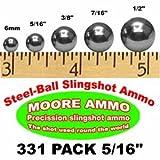 331 pack 5/16' Steel-Ball slingshot ammo (1-1/2 lbs)