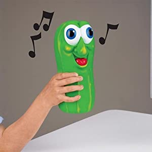 "Musical ""Pass The Pickle"" for two or more players"
