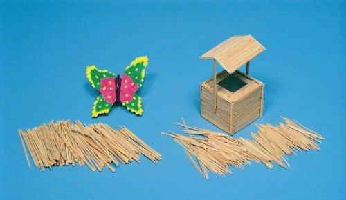 Chenille Kraft Round Wooden Toothpicks - Pack of 800