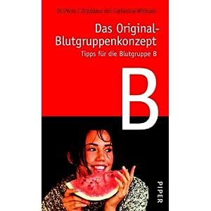 eBook Cover für  Das Original Blutgruppenkonzept Tipps f uuml r die Blutgruppe B
