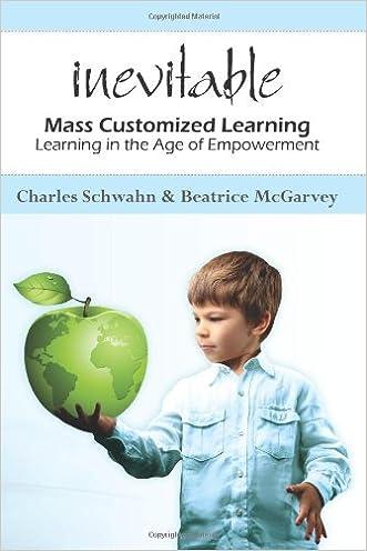 Inevitable: mass customized learning written by Chuck Schwahn