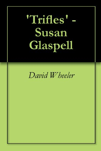 A review of a jury of her peers by susan glaspell