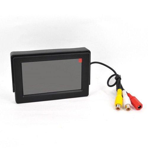 Esky® 4,3 pouces TFT LCD Moniteur Résolution 480x272,16:9, 180°Position Bascule