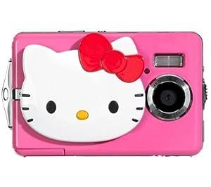 HELLO KITTY - APN 5MPX + Etui Ultra Compact + Chargeur 8H LR6 (AA) + LR035 (AAA) V002 + 4 Batteries NiMH LR6 (AA) 2600 mAh