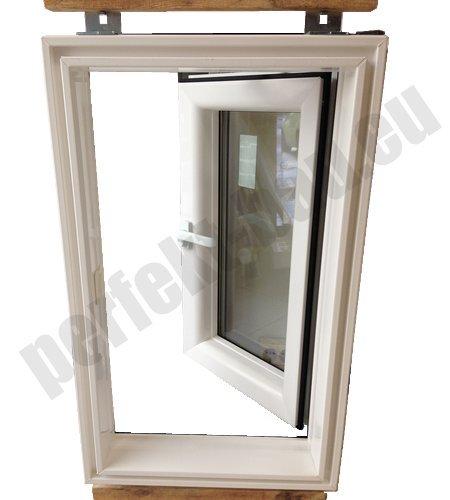 afg dachausstieg pvc skylight premium warmdach 55 x 98 mit. Black Bedroom Furniture Sets. Home Design Ideas