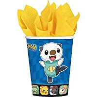 Pokemon 9oz Cups Birthday Party Supplies (8) by Amscan