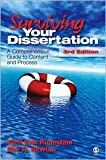img - for Surviving Your Dissertation 3th (third) edition Text Only book / textbook / text book