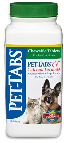 Pet-Tabs Plus CF (Calcium Formula), 60 ct.