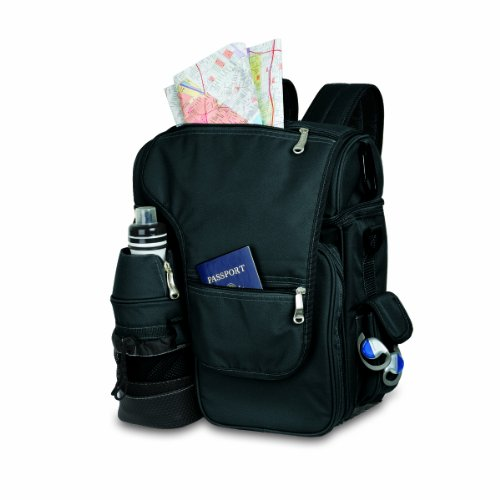 Picnic Time Turismo Insulated Backpack Cooler, Black Picture
