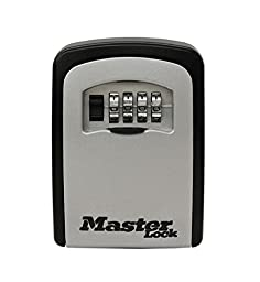 Master Lock 5401D 2 Pack 3-1/4in. Wall-Mounted Key Storage Box, Silver