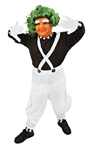 ILOVEFANCYDRESS® CHILDS CHOCOLATE FACTORY WORKER COSTUME GIRLS BOYS SCHOOL BOOK WEEK CHARACTER FANCY DRESS (SMALL)