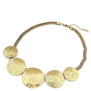 Styonal Women Girls Necklace and Sets STY PN 08 Gold