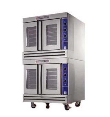 Bakers Pride Bcog2 Double Full Size Gas Convection Oven - Lp, Each