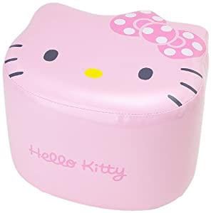 [Hello Kitty]Diecast stools compact Chair faces pink