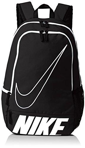 Nike Classic North Zaino, Black/White/(White), Taglia Unica