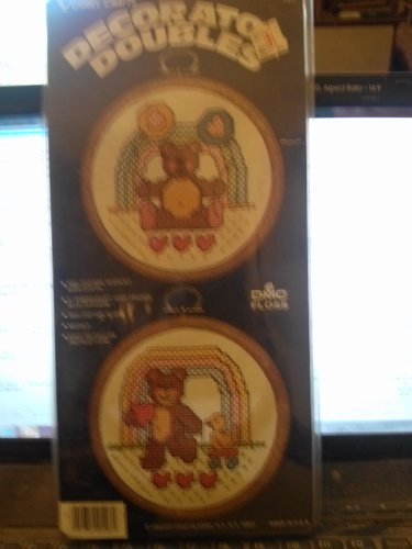 Decorator Doubles Counted Cross Stitch Ensemble 205F