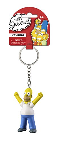 Fox The Simpsons Homer 3D PVC Key Ring