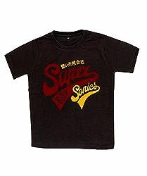 Pokizo Super Boy SoniesCotton Round neck T-shirt