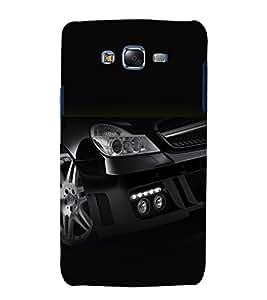 printtech Superfast Car Back Case Cover for Samsung Galaxy Quattro i8552 / Samsung Galaxy Quattro Win i8552
