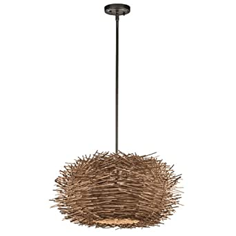 Kichler Lighting 43203oz Twigs 1 Light Pendant Olde