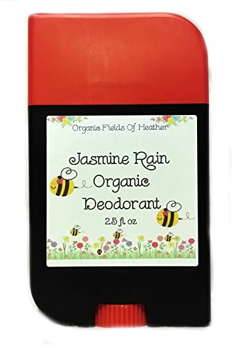 Organic Deodorant - Summer Jasmine Scent - 100% Certified Organic Non-Gmo Ingredients - **New & Improved!** For Women - Men - Kids - Will Not Dry Out Your Skin Or Leave A Long Lasting Oily Residue - Will Naturally Heal Your Damaged Skin - Terrific For Eve back-152483