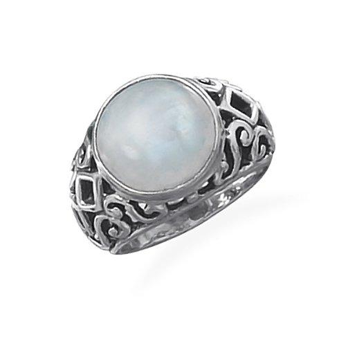 MOONSTONE ENGAGEMENT RING | Moonstone Engagement Ring ...