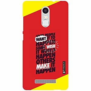 Xiaomi Redmi Note 3 Back Cover - Happens Designer Cases