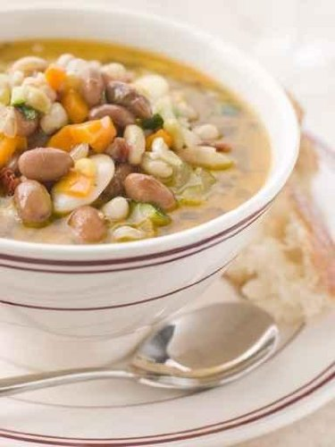 Tuscan Bean Soup with Crusty Bread - 18