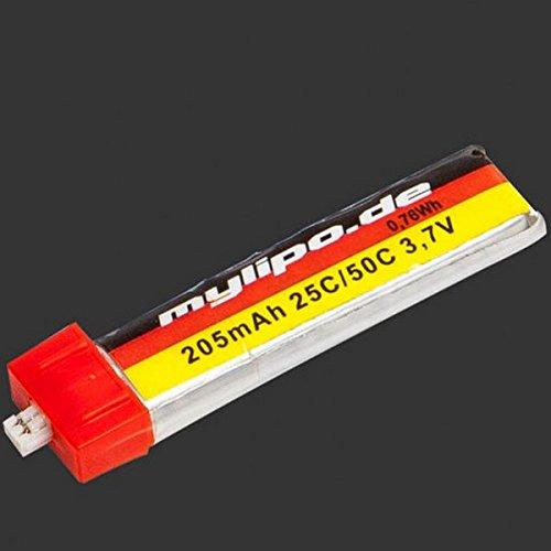 MyLiPo 205mah 25C/50C Burst 1S Lipo Battery for Blade Nano QX, CP X