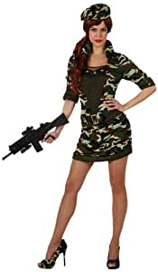 Amazon.com: DISFRAZ MILITAR CAMUFLAJE CHICA T-3: Toys & Games