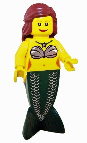 LEGO Loose Minifigure Mermaid - 1