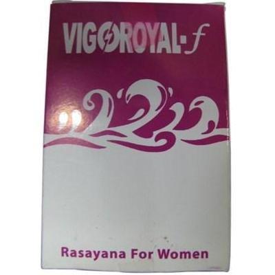 Vigoroyal-F - Maharishi Ayurveda Female Rejuvenating Tonic - 500Mg - 10 Tablets