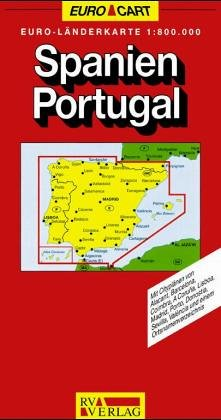 Spanien / Portugal 1 : 800 000. RV- Karte. (7114