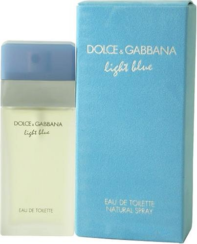 D & G Light Blue By Dolce & Gabbana For Women. Eau De Toilette Spray 3.3 Ounces